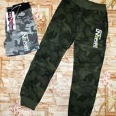 Модные трикотажные штаны для мальчиков 134-164 р. Венгрия.
