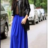 Стильные юбки макси, длинные юбки в пол 3 модных цвета!