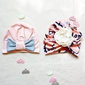 шапочки и наборы для всей семьи. Качественные ткани