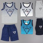 Модный комплект на мальчика 4-12 лет