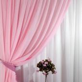 Шифон однотонный, белый и  нежно розовый! Уже в наличие!!!