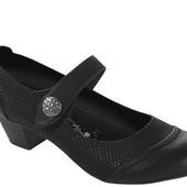 Кожаные мягкие Footflexx женские туфли 36-37-38-39-40-41 на удобной застежке бренд из Германии