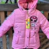 Верхняя одежда для девочек, осень/зима/весна!