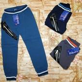 Утепленные спортивные штаны с начесом на мальчиков 110-140 р. Венгрия.