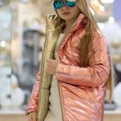 Двусторонняя подростковая курточка размеры 128-168