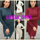 Новинки! Вязаные платье и свитера на р. 44-48 и р.50-54 (универсального размера)