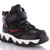 Крутые демисезонные ботинки мальчикам 27-32