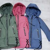 Демисезонные куртки для девочек!