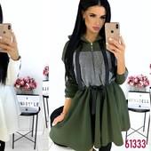 ч.3! Дешевле нет!суперские теплые платья Турция,Украина!только новинки 42-48! От 1 шт. Много моделей