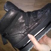 Зимние кожаные ботинки р. 36-40 Распродажа остатков!