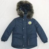 Курточка на мальчика. Зима .Размер 98, 104,110,116.122,128