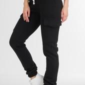 Женские теплые брюки, джоггеры на флисе.