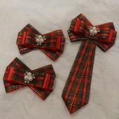 Наборчик!!!!галстук и 2 резинки.