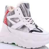 Молодежные зимние кроссовки! Отличное качество!
