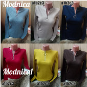 Водолазки с молнией на груди ,разные цвета,отличное качество ,универсал 42-46р