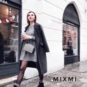 Стильное и тёплое платье кашемир бомбезная модель