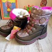 Не ждем -завтра отправочка-шикарные термо ботиночки от Том.м Распродажа 30 рр