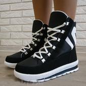 Зимние спортивные ботинки! 37 41