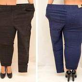 В наличии. Черные джинсы на флисе на королевские формы. Об до 150 р 56-62