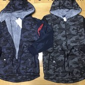 Очень крутая пайта-куртка на меху Grace 8-16 р. Маломерят.