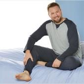 Акция Livergy®Германия хл 2хл,3xl, 4xl мужская пижама костюм для дома и сна, комплект реглан и штаны