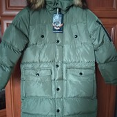 Шикарное зимнее пальто на мальчика 16 лет от Grace Венгрия ! Выкуплены! Качество бомбезное!!!