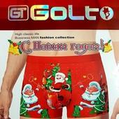 """Девченки.собираю Трусы мужские """"GOLT"""" новогодные.на подарок"""