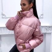 Сегодня выкуп розовой !Куртка женская зимняя M-XL.