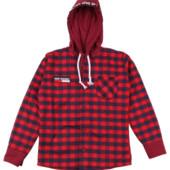 Детская и подростковая рубашка с капюшоном,кашемировые рубашки