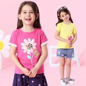 Качественные футболочки для девочек и мальчиков № 45
