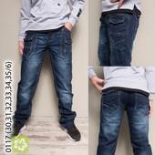 Заказаны! Подростковые джинсы на стройных парней рост 120-170см