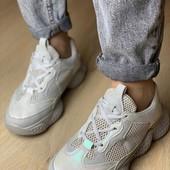 Распродажа-36последний размер! Крутые кроссовки с модной подошвой!Универсальны! Легкие и удобные!