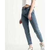 Базові джинси mom, висока посадка, чудова якість! Є залишки з сп!