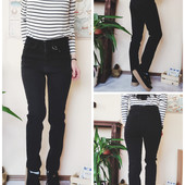 Распродажа!Базовые джинсы, высокая посадка, Коттон+стрейч, Турция