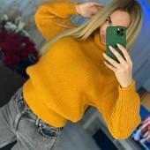 Женские вязаные свитера с горлом