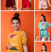 Летние костюмчики для девочек
