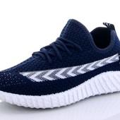 Крутые, модные кроссовки 31-36 р. Цвет темно-синий. Остатки+ Сбор