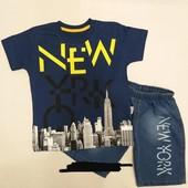 Летняя одежда для мальчика от 1 до 12 лет