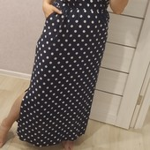 Платье длинное штапель размеры 44-54 расцветки