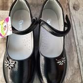 Туфли на девочку в школу и садик. Есть наличие+ новый сбор