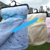 Пледы-одеялка для деток. Микрофибра на овчине. .