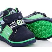 Отличные деми ботинки на флисе. Размеры 22-27
