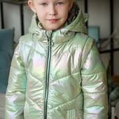 Куртки демисезонные для девочек р 36-44