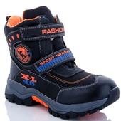 Заказаны !! Зимние термо-ботинки на мальчика 33-37 р