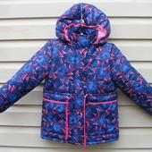Курточка - парка для модняшек. Сезон - весна - осень Размер ,92,98,104,110,116,122.