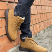 Мужские зимние и осенние ботинки