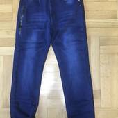 Джинсовые брюки утепленные для мальчиковGrace 140-170 р.р.(82698)