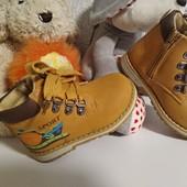 Демисезонные ботинки для маленьких деток быстрый сьор