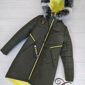 Самые ходовые тёплые Пальто и куртки для мал и дев,быстрый сбор и остатки