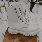 Обратите внимание недорогие зимние ботиночки из кожи